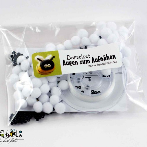 Sew-on-eyes set