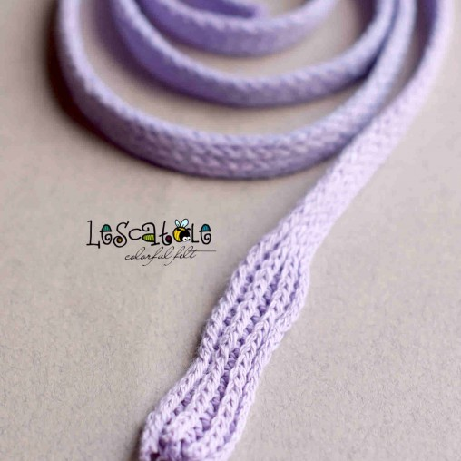 Lilac knitted scarf for...