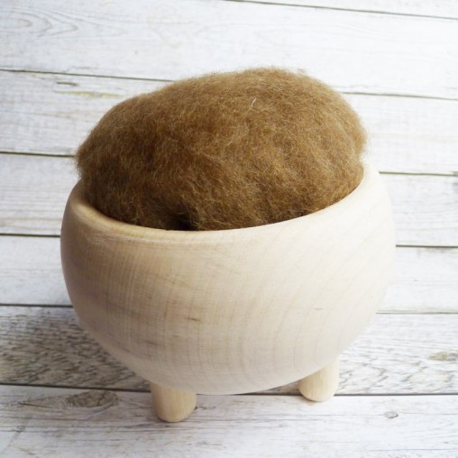 10g CARDED WOOL 'NUT'