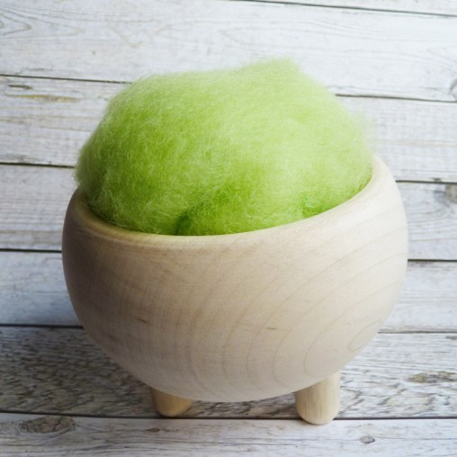 10g CARDED WOOL 'APPLE'