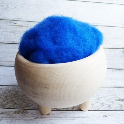 10g CARDED WOOL 'LARKSPUR'