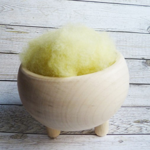 10g CARDED WOOL 'QUINCE'