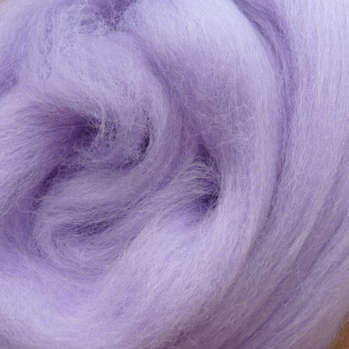 10g WOOL SLIVER - LILAC