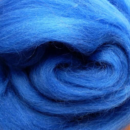 10g WOOL SLIVER - BLUE