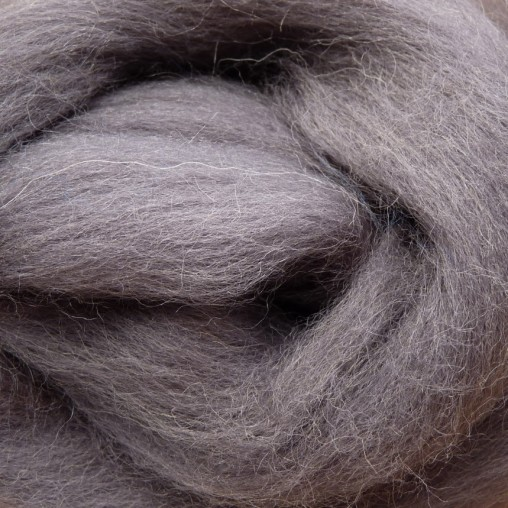 10g WOOL SLIVER - GRAY