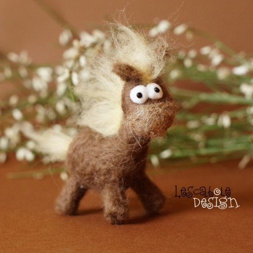 Little felted horse in your...
