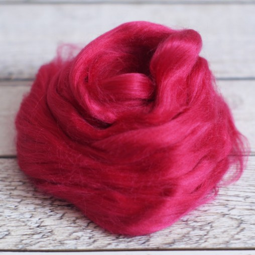 viscose top raspberry