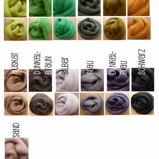 wool color table