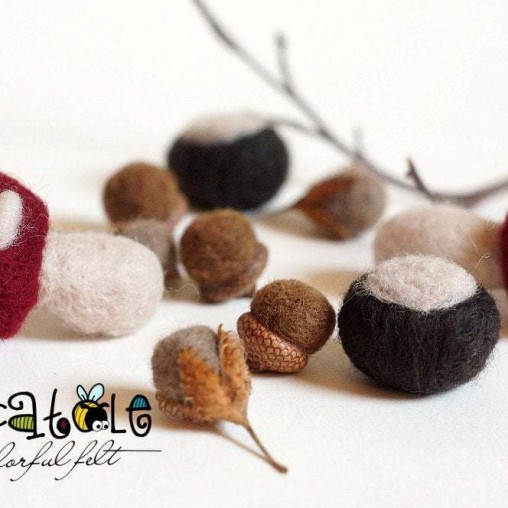 felted deco set