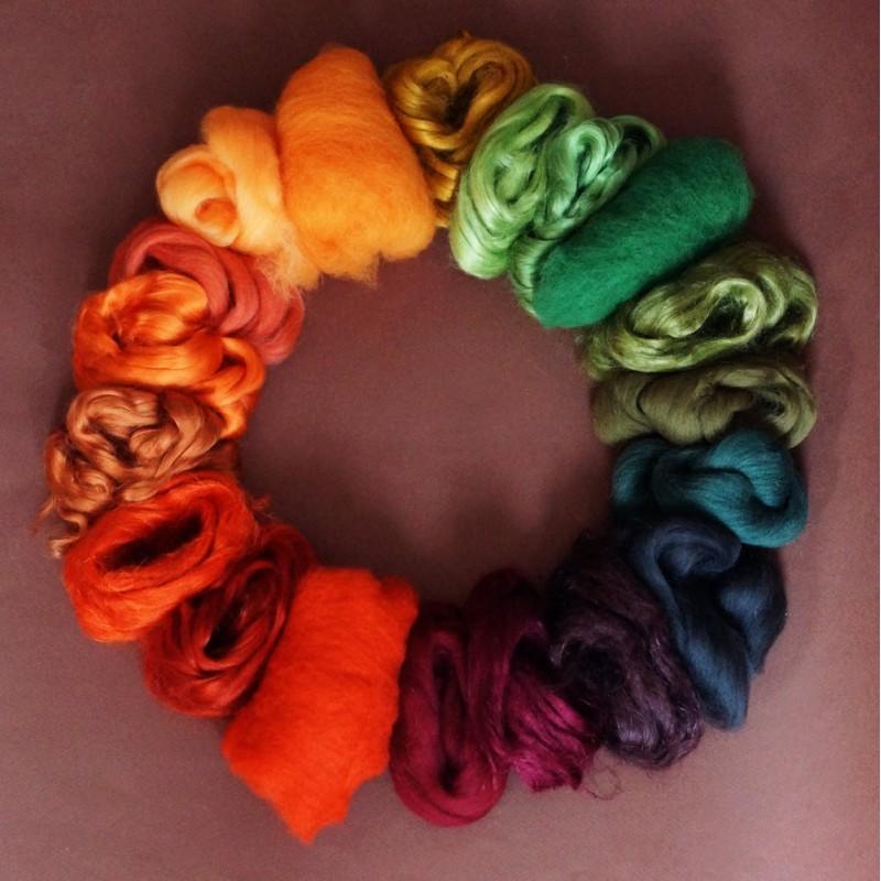 Autumn fiber set