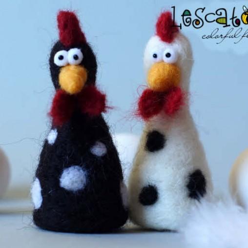 Gepunktetes Huhn