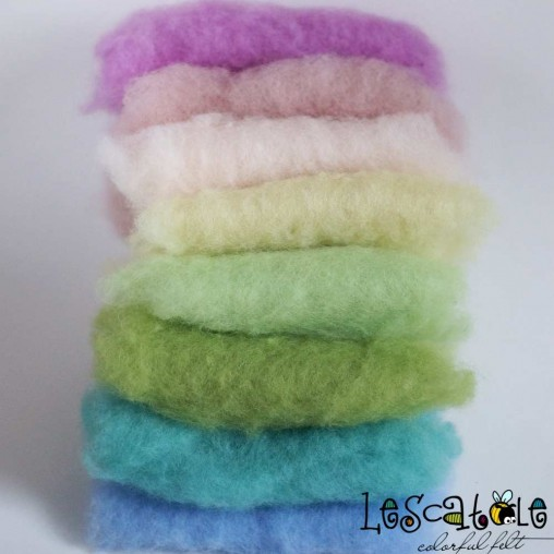 felting wool spring set