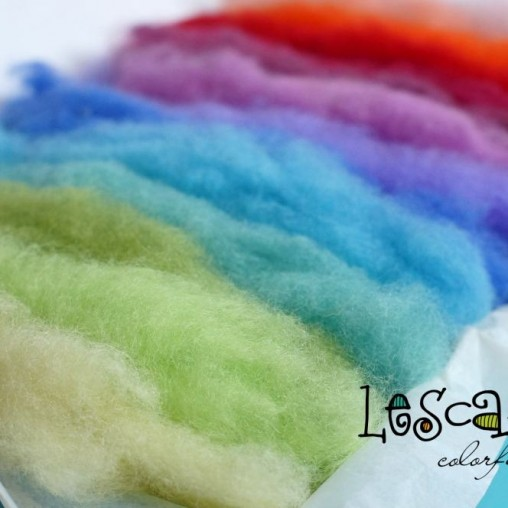 COLORFUL WOOL SET 140g
