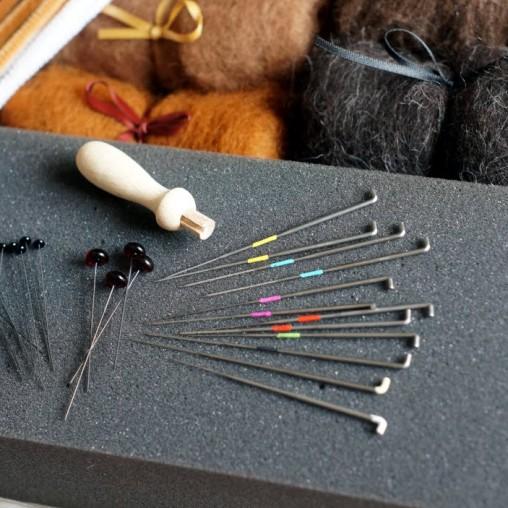 starterkit needlefelting animals
