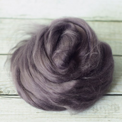 10g Viscose top 'aubergine'
