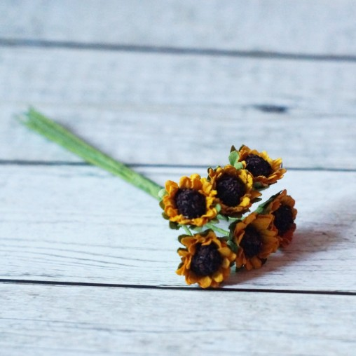 miniature sunflowers