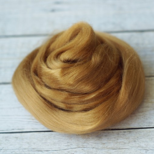10g Viscose top 'golden brown'