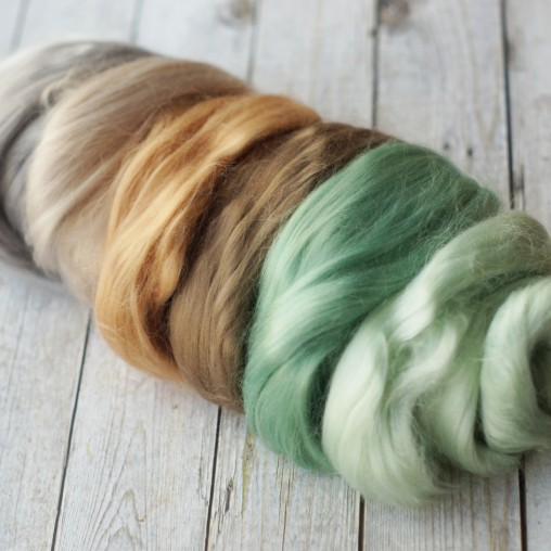 Viscose set in mint and...