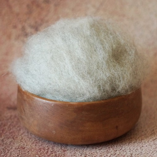 Mountain sheep wool - light...