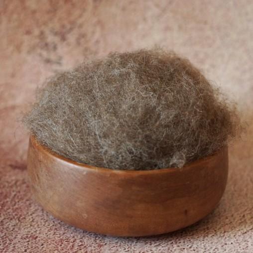 Mountain sheep wool - dark...