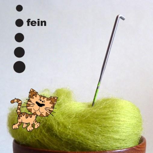 Fellnadel 40 Gauge