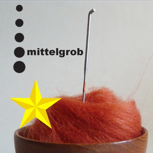 Star felting needle -...