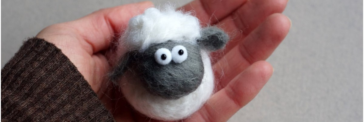 Needlefelted animals and other creatures