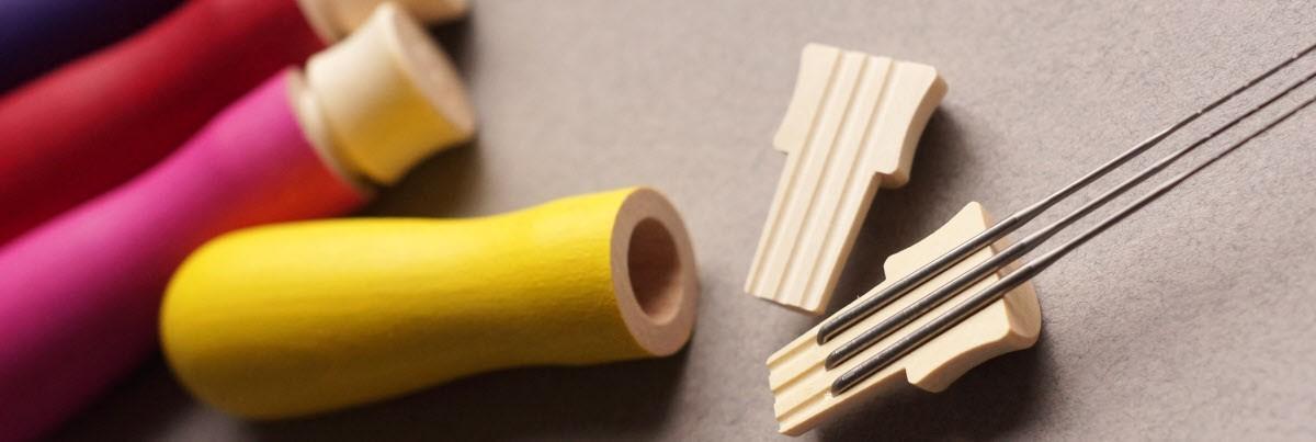 Needle handles