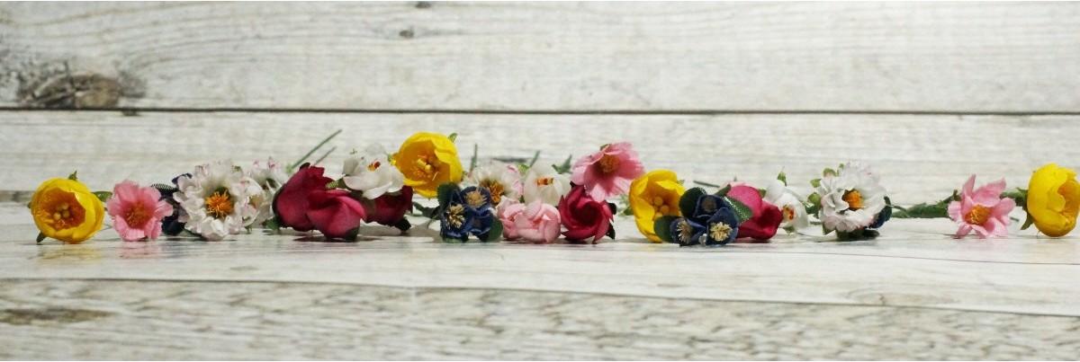 Miniatur Kunstblumen